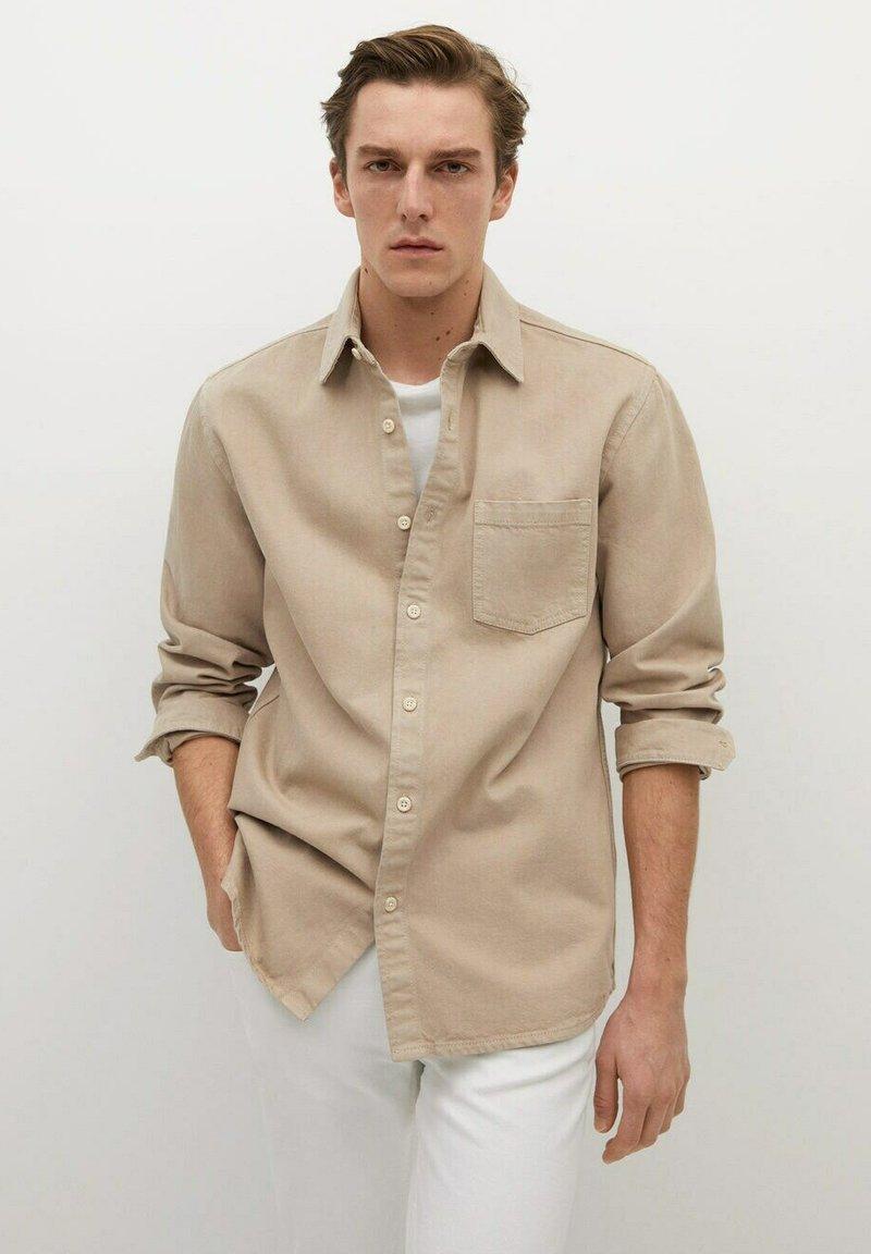 Mango - JAZZ - Shirt - beige