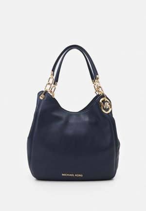 LILLIE CHAIN TOTESMALL - Handbag - navy