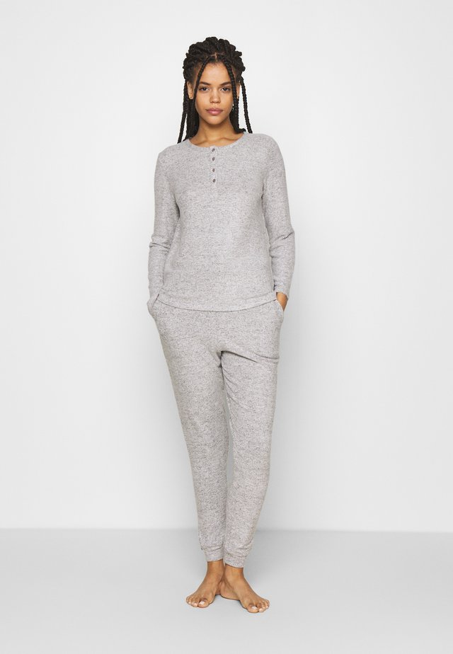SET - Pyjamas - dark grey