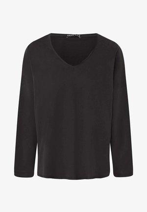 Top sdlouhým rukávem - dark grey