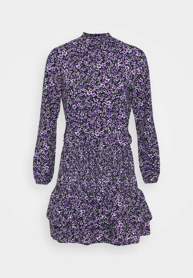 RUFFLE DRESS - Day dress - lilac