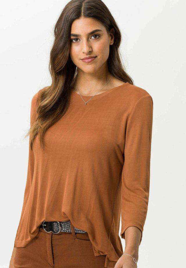 CLARA  - Långärmad tröja - chestnuts