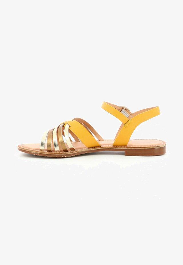 ETCETERA - Sandales - jaune
