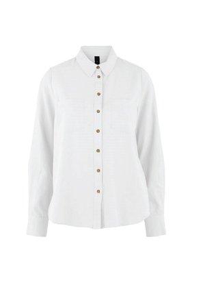 YASZIKKI - Button-down blouse - star white