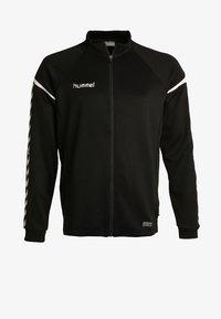 Hummel - AUTH CHARGE ZIP - Træningsjakker - black - 6