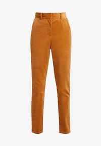 YAS - YASKATY PANT - Trousers - caramel café - 4