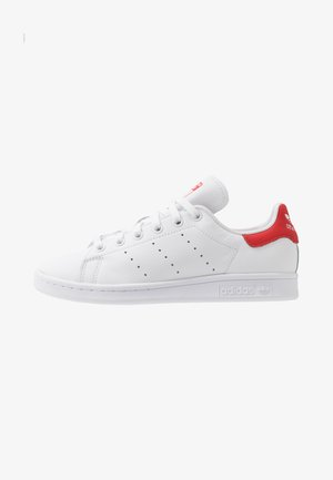 STAN SMITH - Matalavartiset tennarit - footwear white/lush red