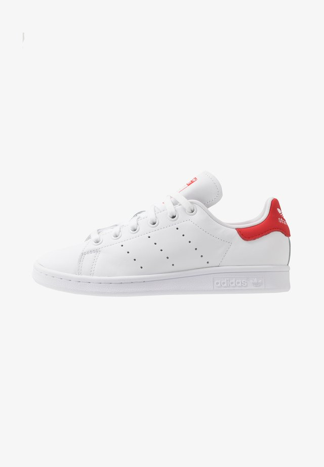 STAN SMITH - Sneaker low - footwear white/lush red