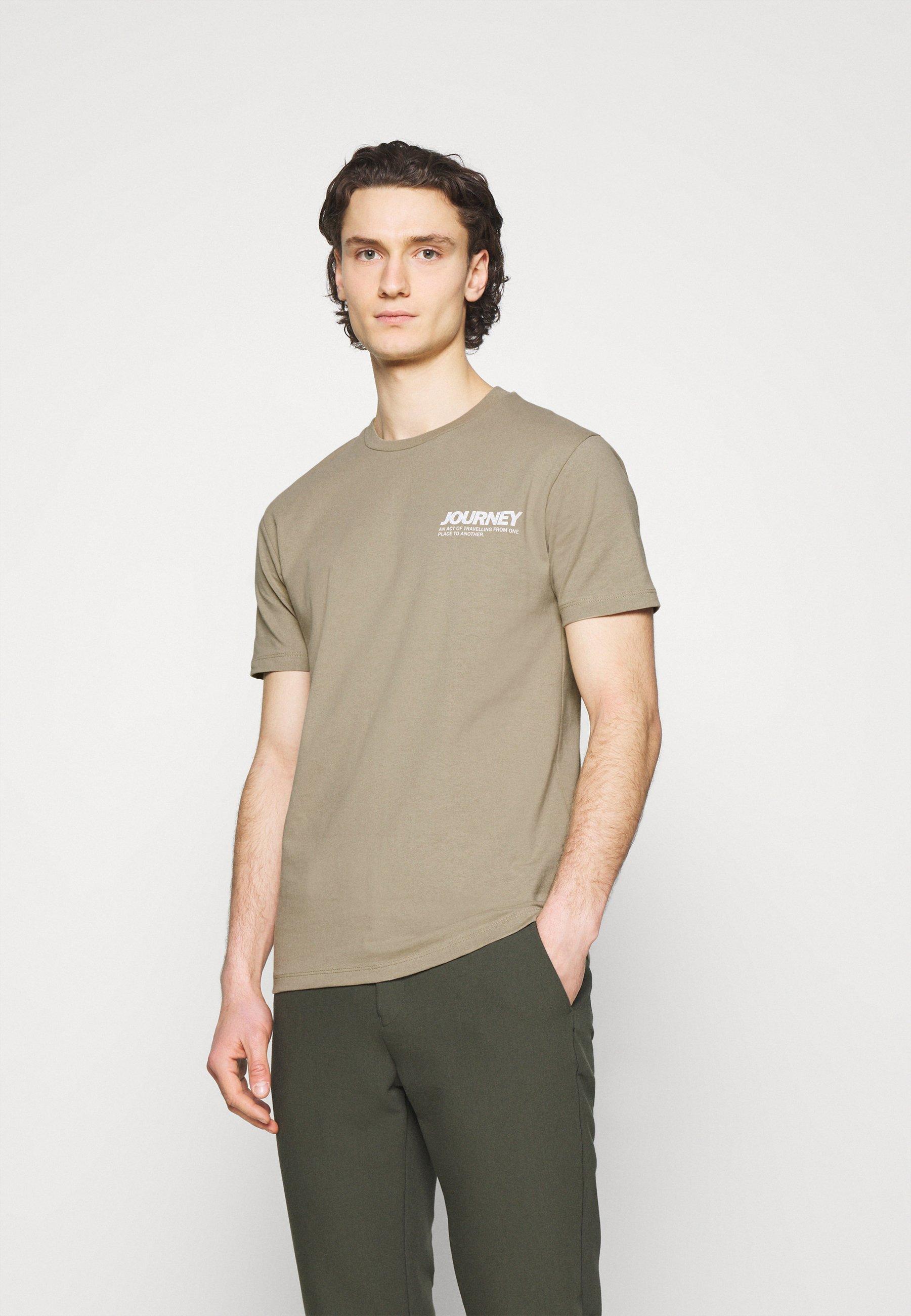 Men AARHUS  - Print T-shirt