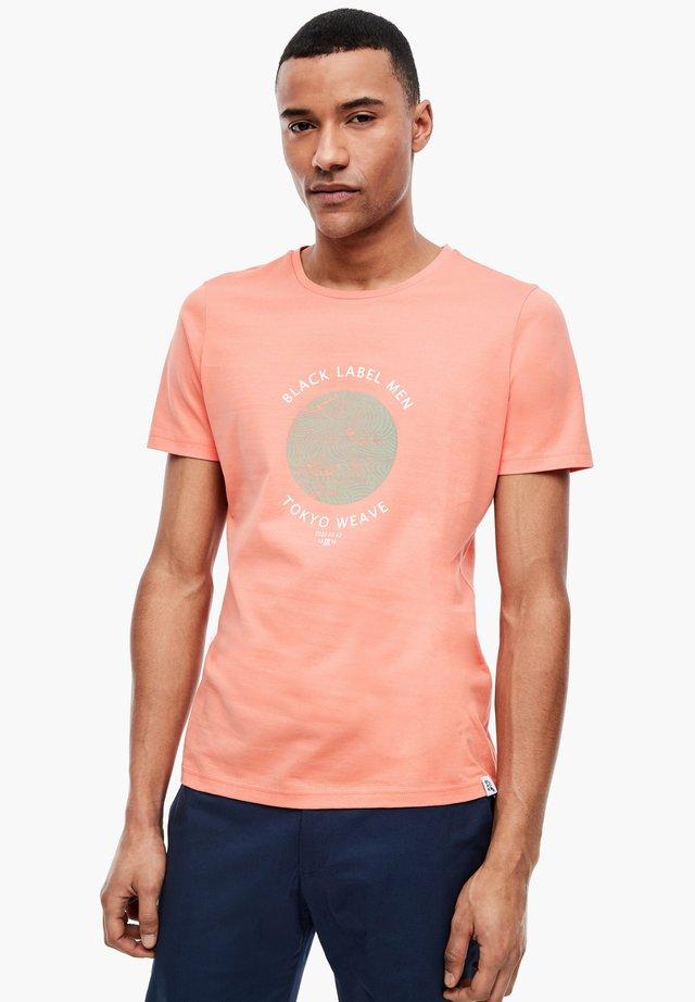 MODISCHEM FRONTPRINT - T-shirt imprimé - light orange