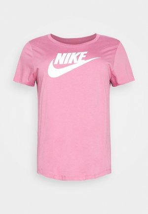 TEE FUTURA PLUS - T-shirts med print - desert berry