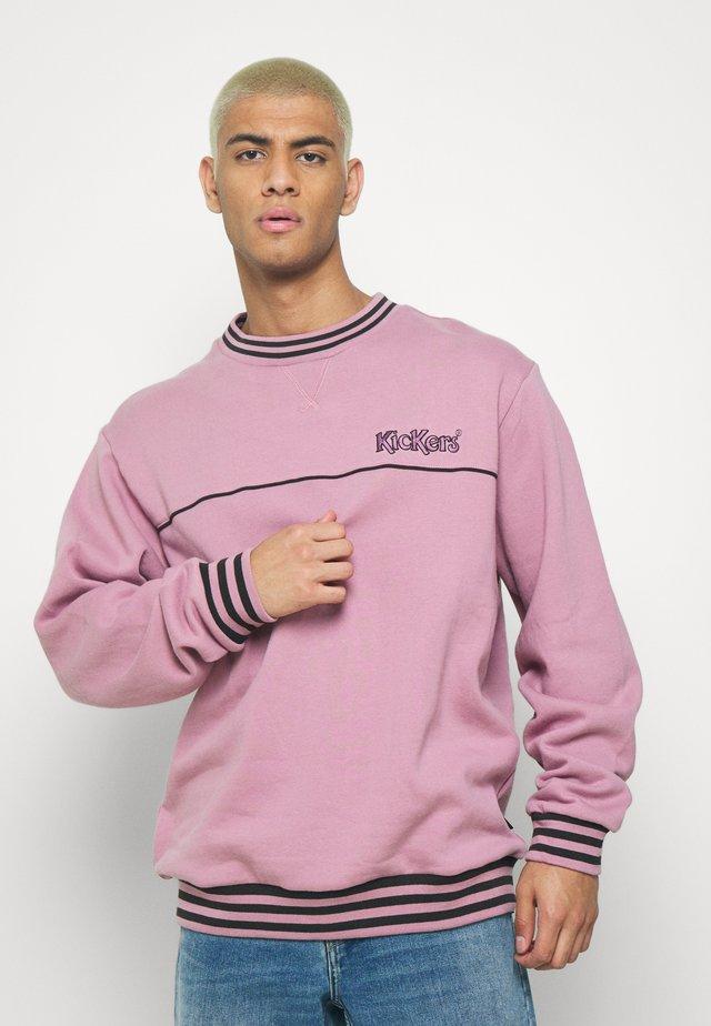 PIPED CREWNECK  - Collegepaita - pink