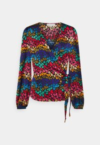 Never Fully Dressed Tall - RAINBOW SWIRL WRAP - Blouse - multi - 0