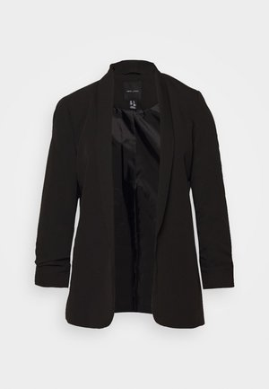 NAPLES RUCHED - Blazer - black