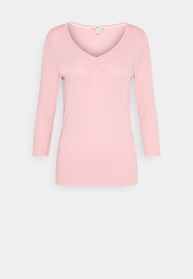 FLOW CORE - Topper langermet - pink