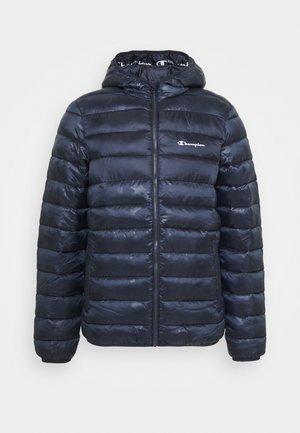 LEGACY HOODED JACKET - Zimní bunda - dark blue