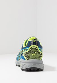 ASICS - GEL-VENTURE 7 - Trail running shoes - black/safety yellow - 4