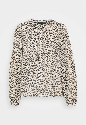 RELEASE PLEAT BUTTON DOWN - Blouse - cheetah