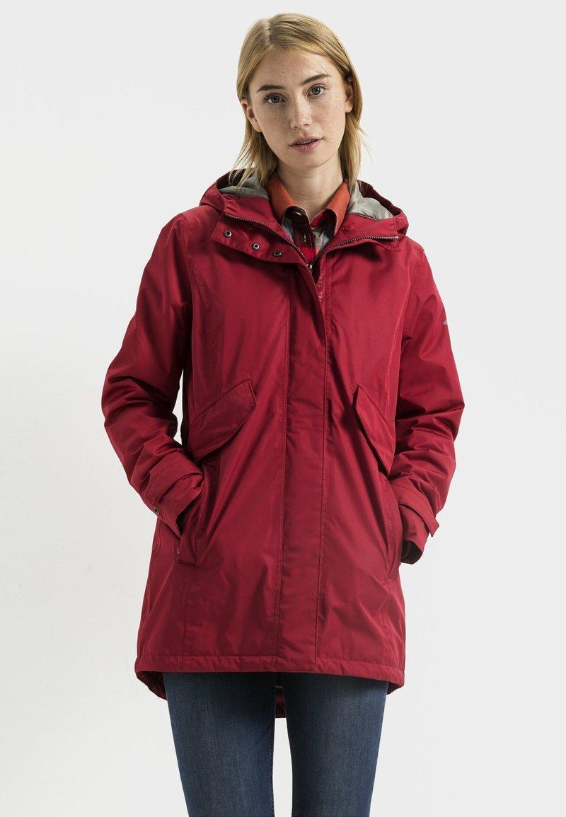 camel active - Winter coat - red