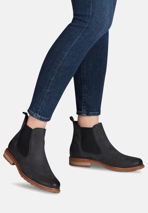 Ankle boots - black struct