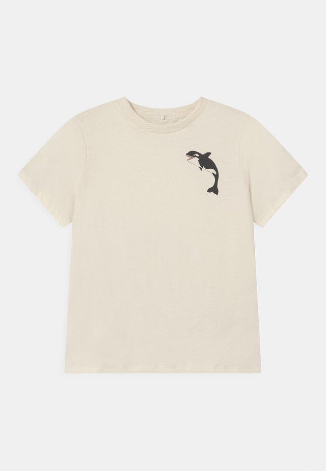 ORCA TEE UNISEX - T-shirt print - offwhite