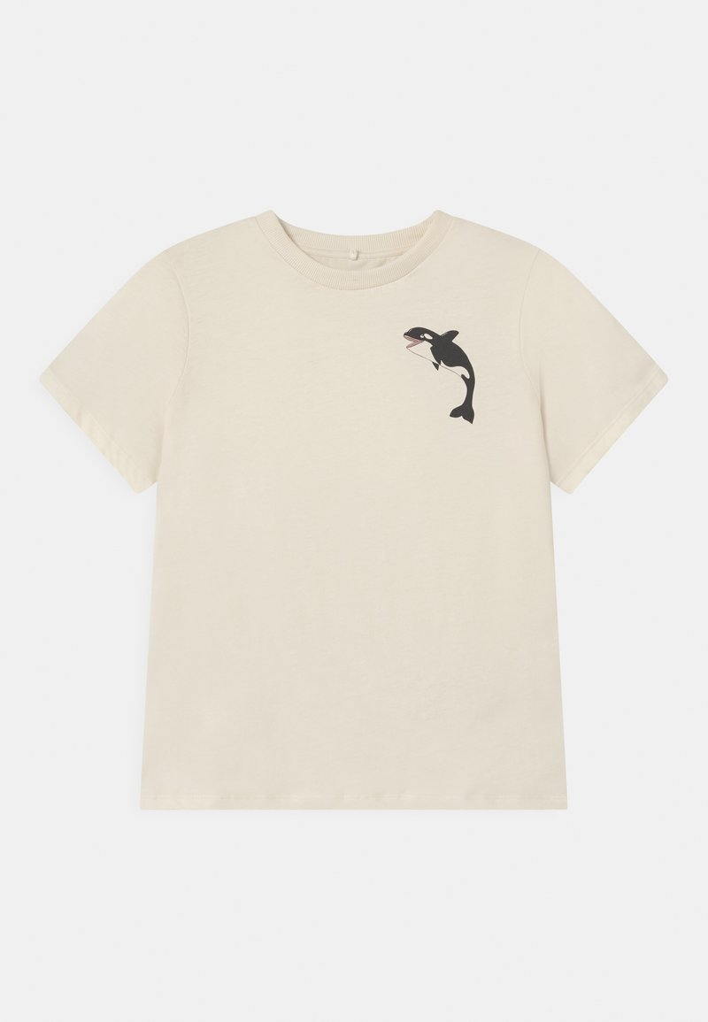 Mini Rodini - ORCA TEE UNISEX - T-shirts print - offwhite