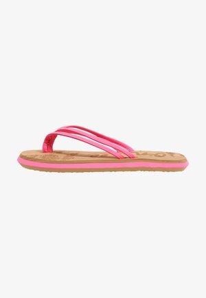 T-bar sandals - rosa shocking