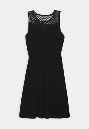 ONLNEW NICOLE LIFE DRESS - Jerseykjole - black