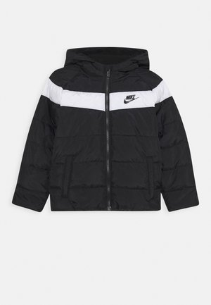 FILLED JACKET - Vinterjakker - black