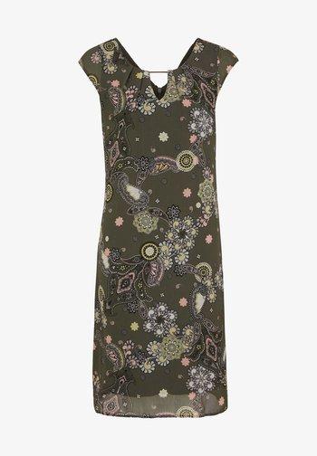 Robe d'été - khaki ornamental print