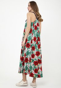 Madam-T - Maxi dress - rosa, rot - 1