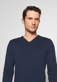 Pier One - 2PACK - Strickpullover - dark blue - 4