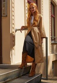 mtng - TEO - Cowboy/Biker boots - brown - 1
