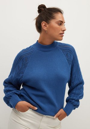 GREY - Jumper - blau