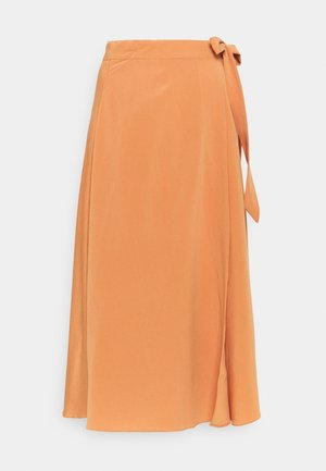 YASSUNNA MIDI WRAP SKIRT - A-line skirt - sunburn