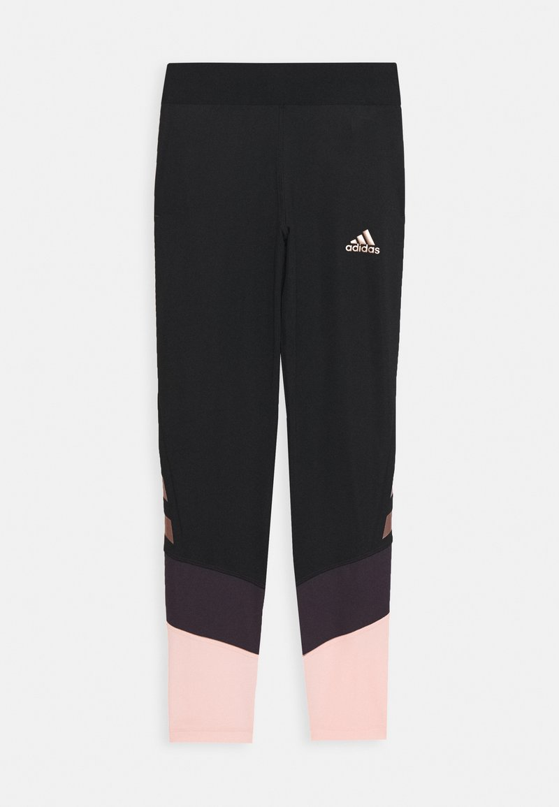 adidas Performance - G A.R. XFG T - Leggings - black/pink