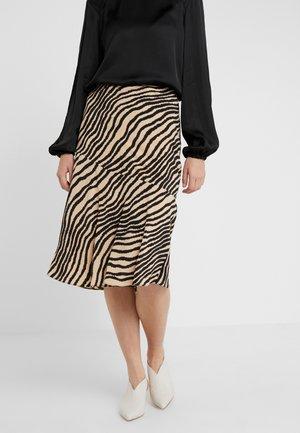 TASSIALA - A-line skirt - dry desert