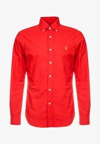 Polo Ralph Lauren - OXFORD SLIM FIT - Skjorta - red - 5