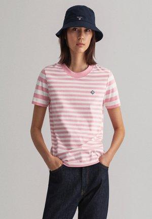 Print T-shirt - sea pink