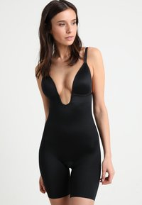 Spanx - SUIT YOUR FANCY PLUNGE LOW BACK MID TIGH  - Body - very black - 1