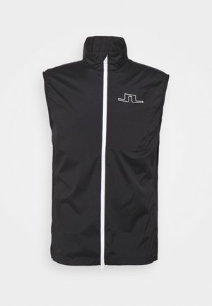 LIGHT GOLF VEST - Waistcoat - black