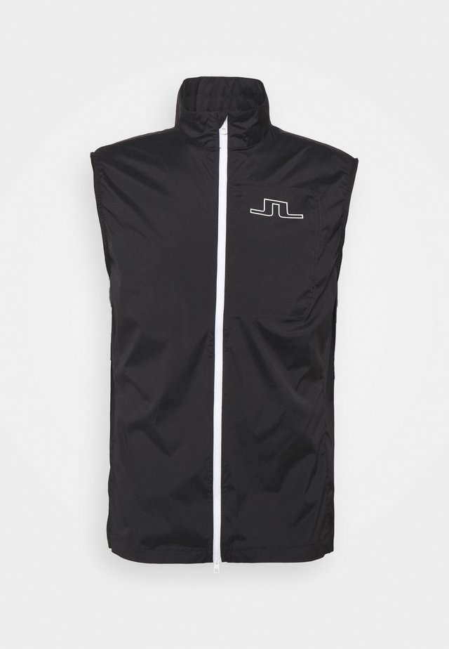 LIGHT GOLF VEST - Vest - black