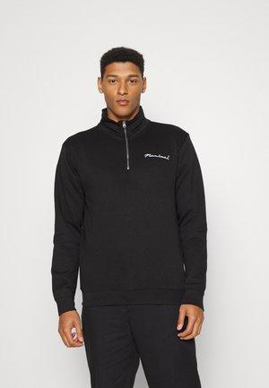 HIGH NECK CREW - Sweater - black