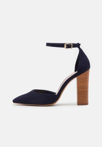 SUSAN - Classic heels - navy