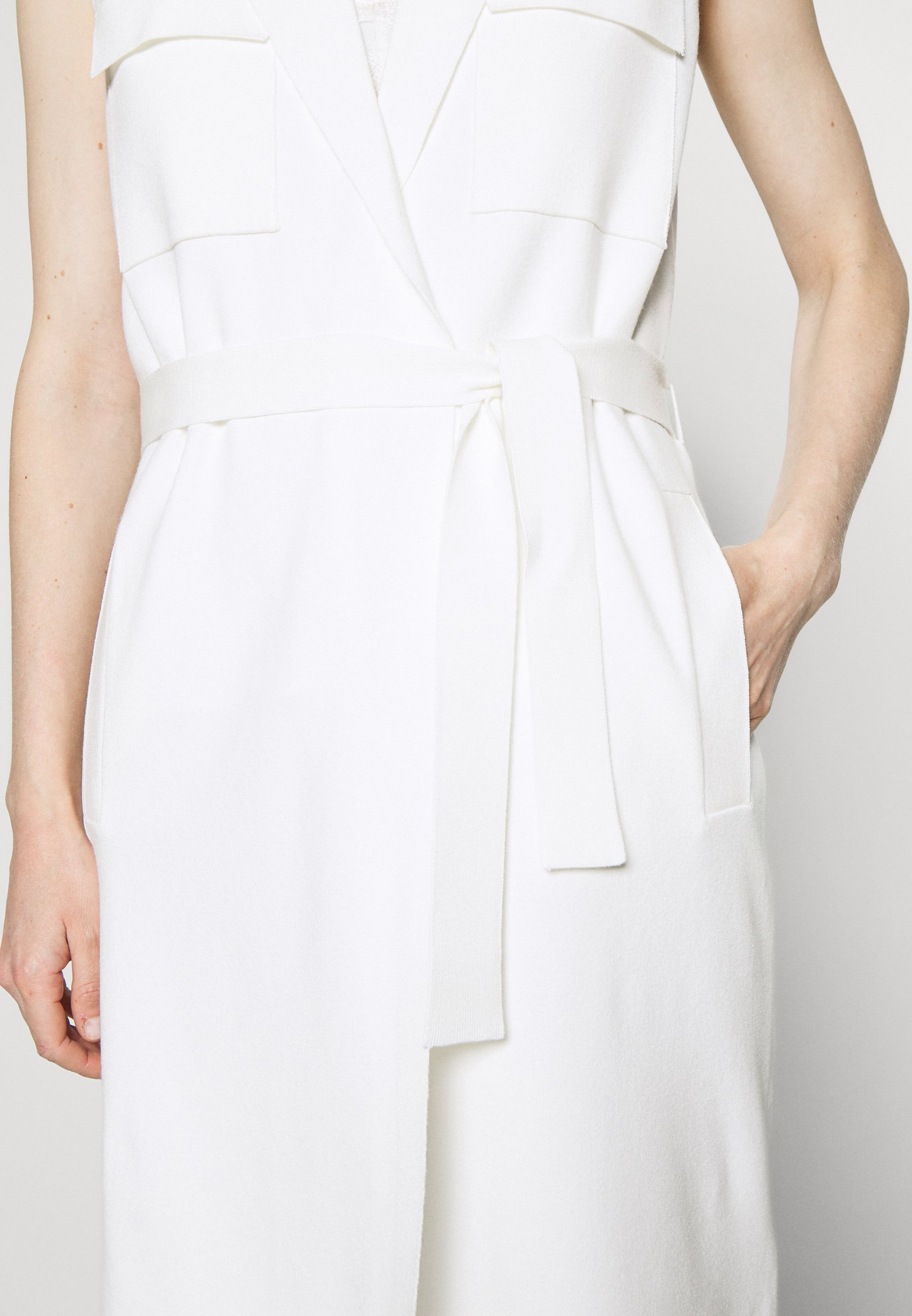 Marc O'Polo PURE HEAVY SLEEVELESS Weste natural white/weiß