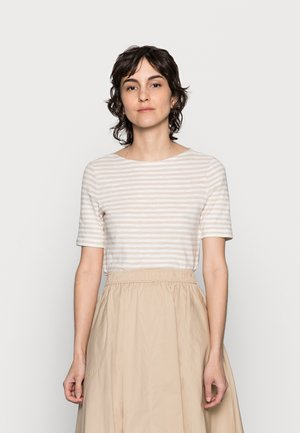 Print T-shirt - multi/summer taupe
