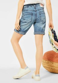 Cecil - Jeansshorts - mid blue wash - 2