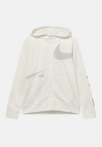 Zip-up sweatshirt - sail/light bone