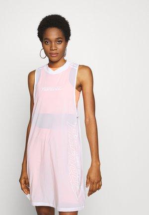 DRESS - Sukienka z dżerseju - white