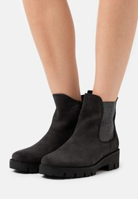 Gabor Comfort - Classic ankle boots - dark grey - 0